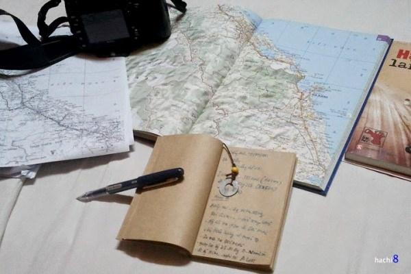 Đừng quên mang theo bản đồ khi đi phượt xuyên Việt bằng xe máy