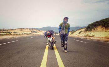 Phượt xuyên Việt bằng xe máy - đam mạo hiểm đầy thú vị