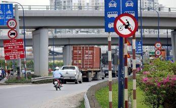 Lỗi xe máy đi vào đường cấm sẽ bị xử phạt 300.000 - 400.000