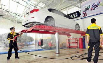 Tiệm rửa xe ô tô chuyên nghiệp
