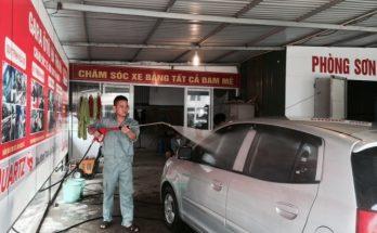 kinh doanh rửa xe ô tô