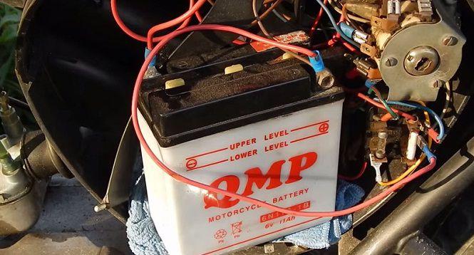 Accquy bị chết là một trong những nguyên nhân khiến xe máy bị mất điện