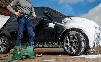 Máy rửa xe mini trong gia đình có mức giá khá rẻ