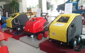 Máy phun rửa xe nước nóng trên thị trường có nhiều mức giá khác nhau