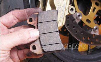 Má phanh mòn là nguyên nhân dẫn đến tình trạng đĩa xe máy vênh
