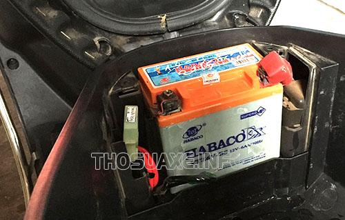 Acquy bị có vấn đề là nguyên nhân lớn khiến xe máy bị mất điện