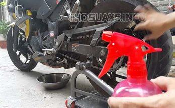 Vệ sinh xe máy định kỳ giúp xe vận hành ổn định và trơn tru