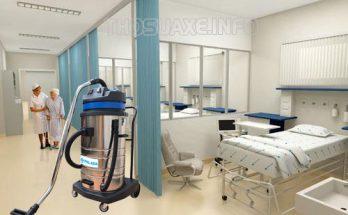 Máy hút bụi công nghiệp không ồn thích hợp dùng trong các bệnh viện