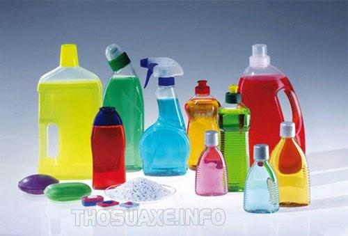 Các loại hóa chất tẩy rửa công nghiệp chuyên dụng