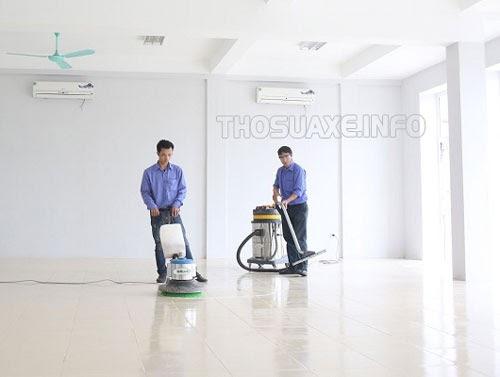 Máy vệ sinh chuyên dụng giúp người dùng làm sạch không gian nhanh chóng