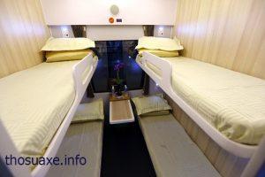 Giường nằm khoang 6 điều hòa được sử dụng rộng rãi hiện nay