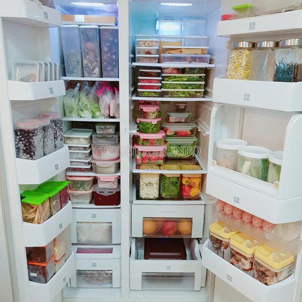 Để thực phẩm quá nhiều khiến tủ lạnh không thể hoạt động