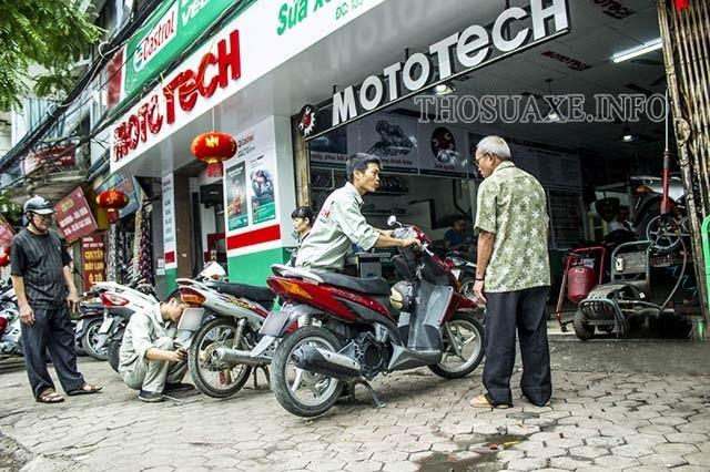 Bảo dưỡng xe máy hết bao nhiêu tiền hiện nay?