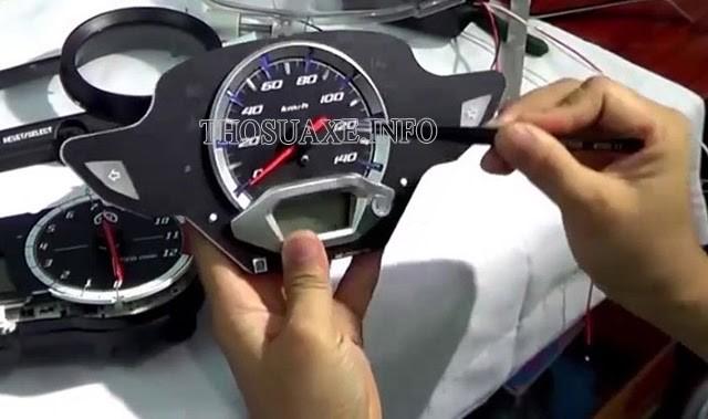 Các cách kiểm tra thông số của đồng hồ odo