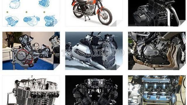 Các kiểu động cơ của xe máy và tên gọi các bộ phận của xe máy