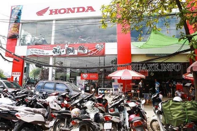 Giờ làm việc của Honda là mấy giờ?