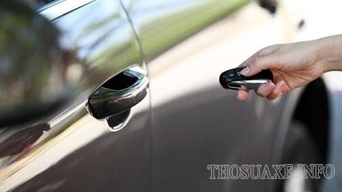 Hệ thống chống trộm xe ô tô bị lỗi