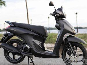 Vẻ đẹp sang trọng, hiện đại của Yamaha Janus 2020