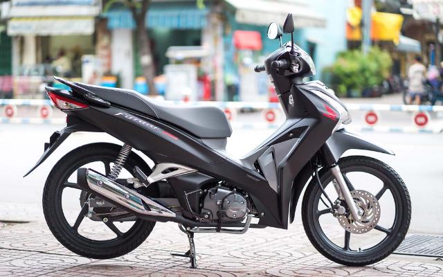 Xe máy Honda Future phiên bản đen cá tính, đẳng cấp