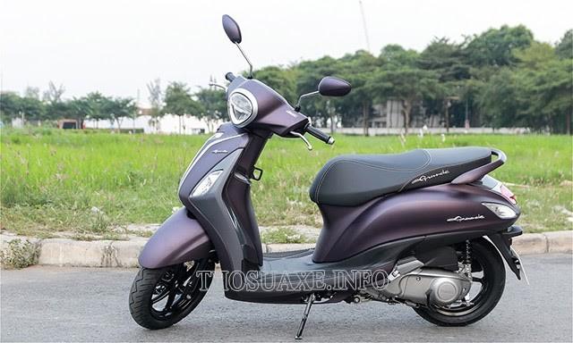 Xe máy Yamaha Grande sang trọng, thời thượng