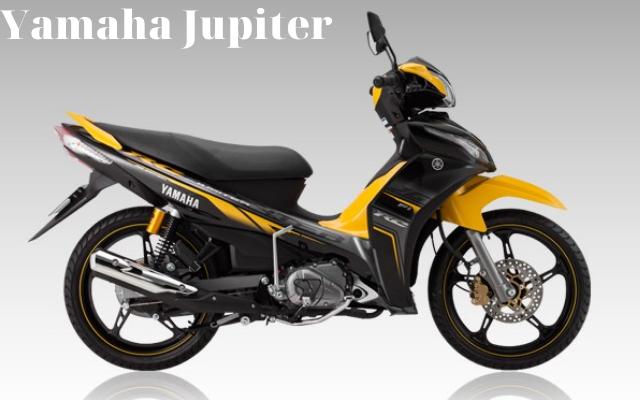 Xe máy Yamaha Jupiter vàng đen mạnh mẽ, khác biệt