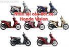 Cùng nhìn lại các đời xe Honda Vision từ khi ra mắt đến nay