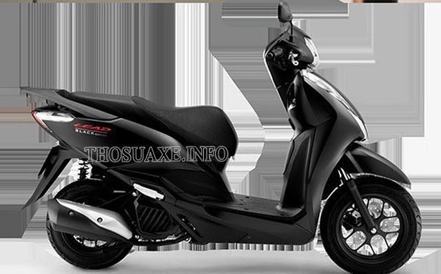 Màu đen mờ cực chất của Honda Lead 2020