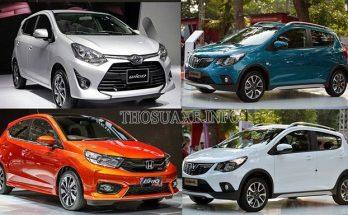 Những mẫu xe ô tô dưới 400 triệu có doanh số bán ra cao nhất