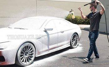 Rửa xe ô tô không chạm dễ dàng nhất