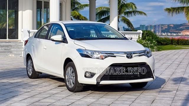 Toyota Vios E CVT sang trọng, lịch lãm