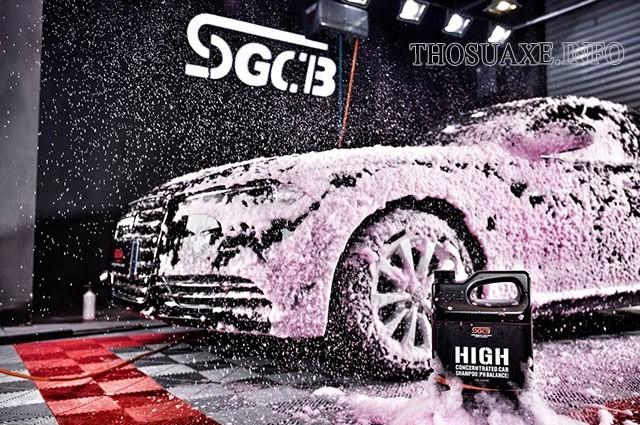 Công nghệ rửa xe ngày càng phát triển với nhiều mô hình