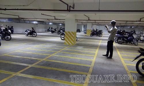 Diện tích của bãi đỗ phải đáp ứng theo tiêu chuẩn đã quy định