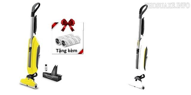 Hai phiên bản màu sắc của máy lau sàn Karcher FC5 Premium