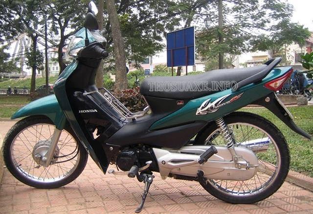 Honda tiếp tục trình làng phiên bản Wave Alpha 2006
