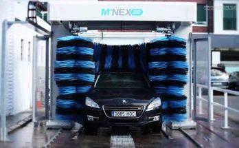 Máy rửa xe tự động có cấu tạo như thế nào?