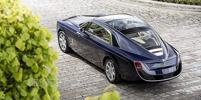 Một góc chụp của chiếc Roll Royce đắt nhất thế giới