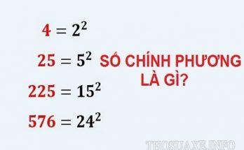 Số chính phương còn được gọi là số hình vuông