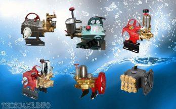 Tìm hiểu về các loại đầu bơm rửa xe đang được dùng phổ biến