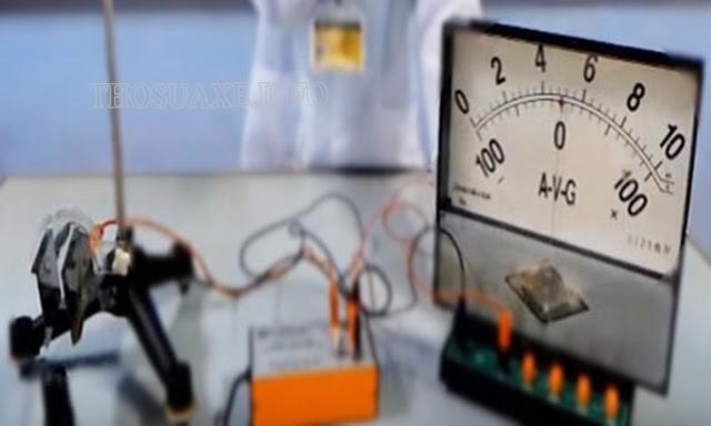Các thí nghiệm tạo ra dòng điện trong chất khí