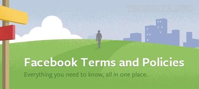 Điều khoản và chính sách của Facebook