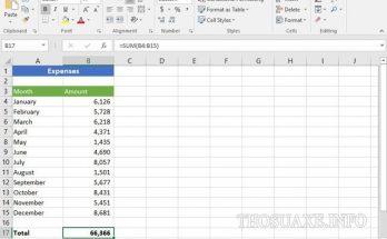 Cách tính phần trăm trong Excel cực dễ
