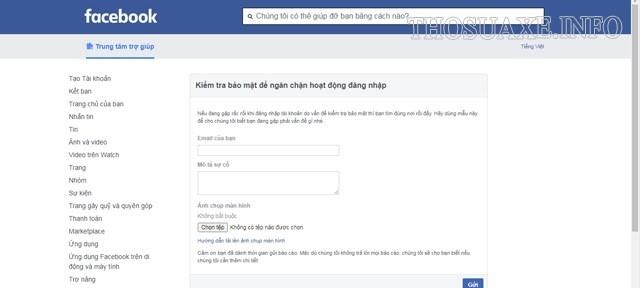 Facebook Security Checks