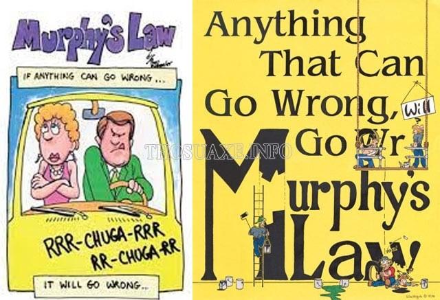 Định luật Murphy và những nguyên tắc căn bản thường xảy ra trong cuộc sống