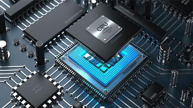 CPU của một thiết bị điện tử