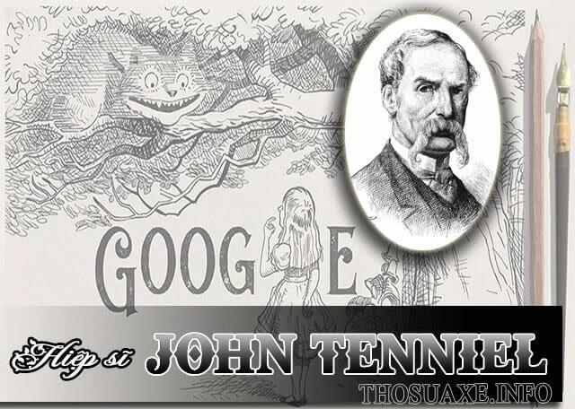Google vinh danh Hiệp sĩ John Tenniel nhân dịp 200 năm ngày sinh