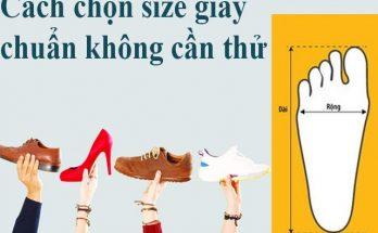 Hướng dẫn bạn cách đo size giày vừa chân mà không cần thử