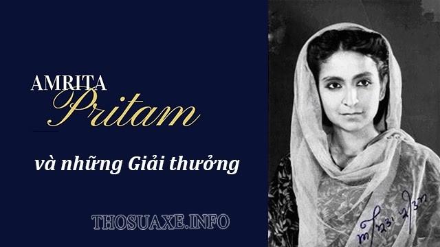 Một số giải thưởng nổi bật của Amrita Pritam