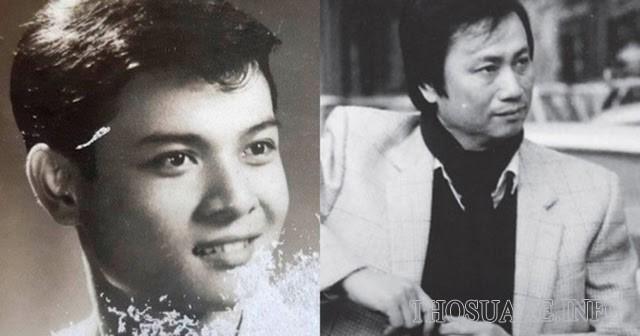 Nhạc sĩ Lam Phương thời trẻ với ngoại hình điển trai