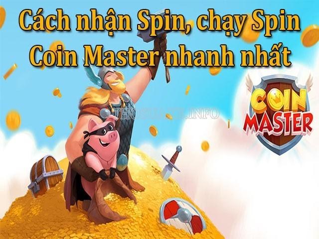 Tổng hợp những cách chạy Spin Coin Master nhanh chóng nhất