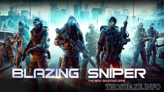 Blazing Sniper - game chiến thuật mobile có thao tác chơi đơn giản